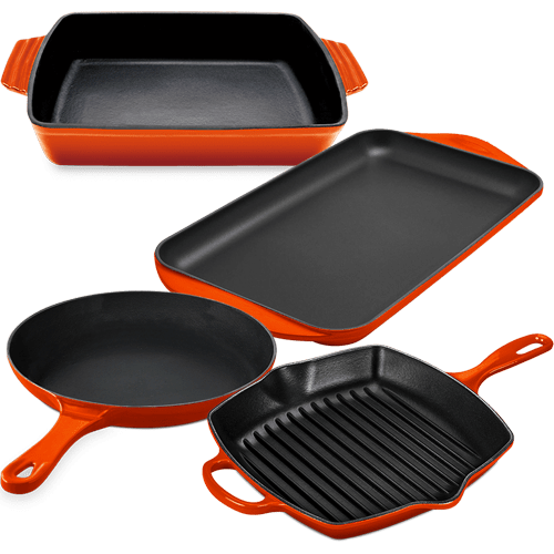 Fiery CastIron Set